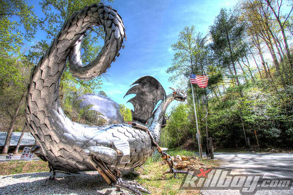 Tail Of The Dragon At Deals Gap Motorcycle And Sport Car